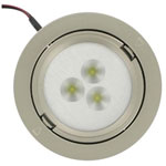 Spot encastrable leds 1W/350mA