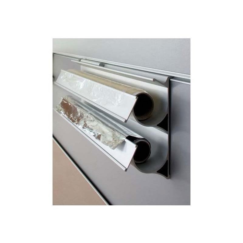 D rouleur aluminium 2 niveaux zobal bricotoo - Derouleur papier alu ...
