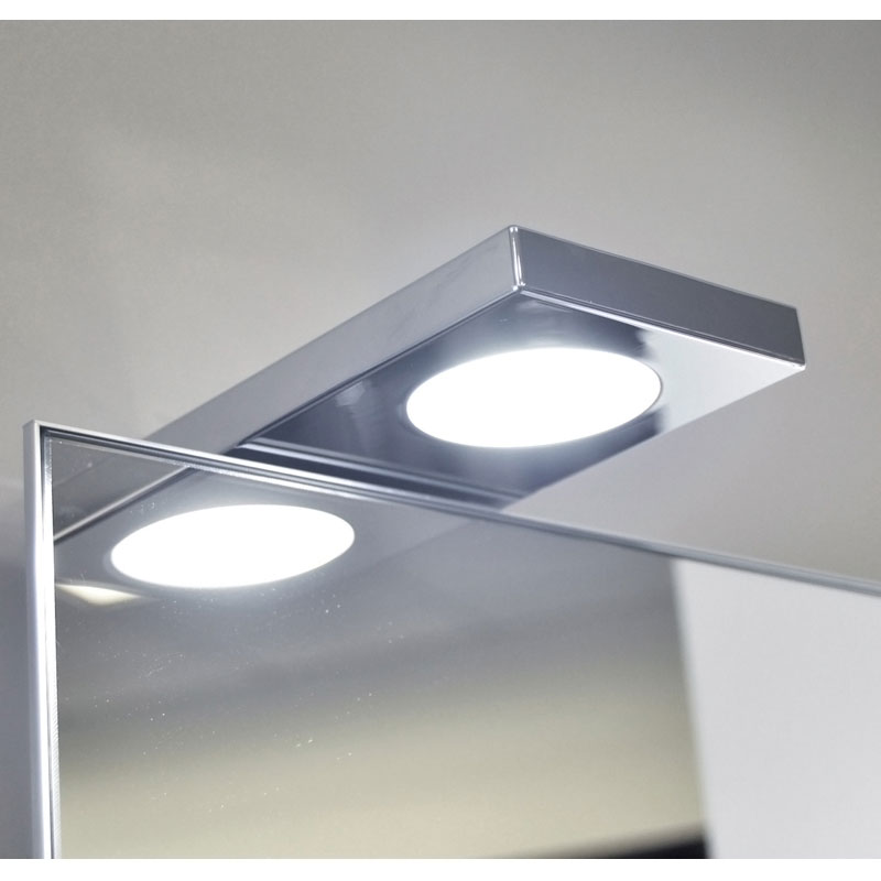 Spot led miroir carré WinTop - VOKIL | Bricotoo