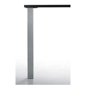 Pied de table carré Quadra - 60 x 60 mm