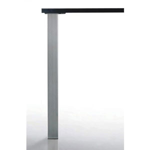 Pied de table Quadra - 80 x 80 mm
