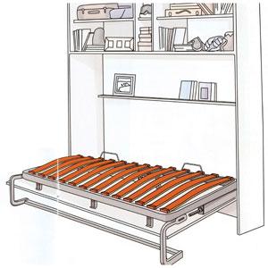 lits escamotables en kit bricotoo. Black Bedroom Furniture Sets. Home Design Ideas