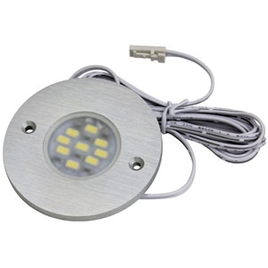 Spot LED rond extra-plat - 9 LED - 12 V - 3 W