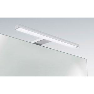 Applique LED 220V sur tige  fixation murale