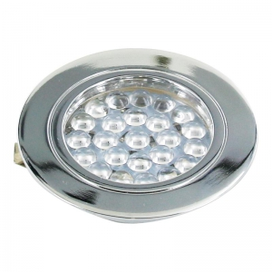 Kit de 3 spots LED ronds - 12 V - 1,8 W