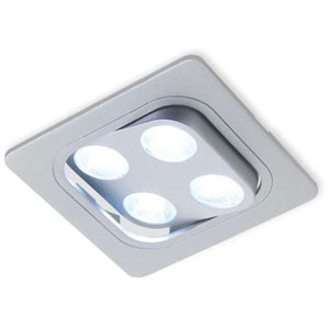 Spot LED carré orientable Java Square - 12 V - 4,8 W