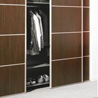 Quincaillerie de dressing et chambre bricotoo - Fabriquer placard coulissant ...